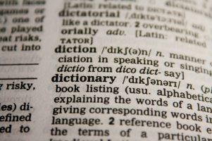 dictionary excerpt