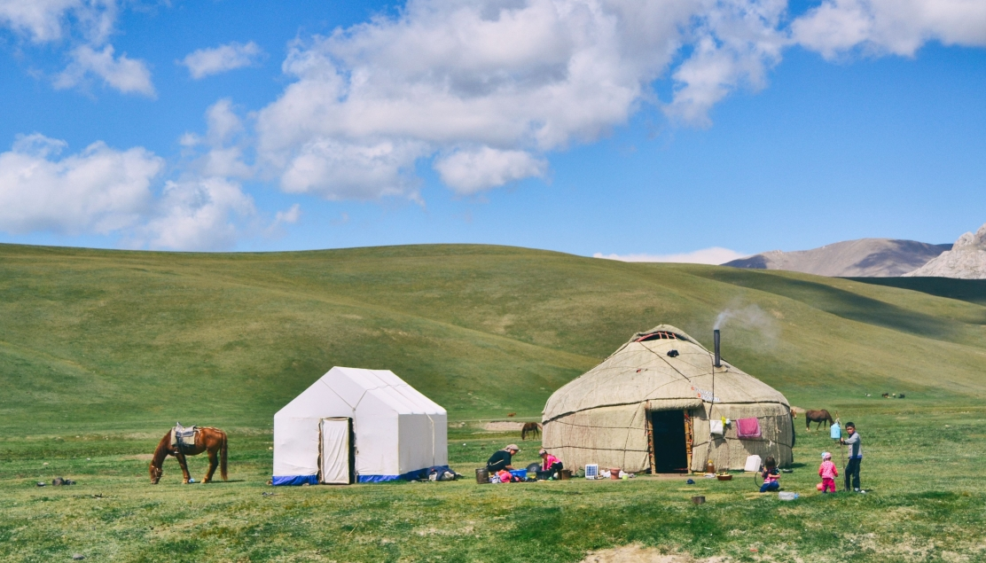 Central Asian yurt
