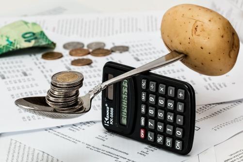 balancing money vs food