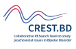 crest.bd bipolar disorder research team logo