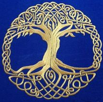 Celtic oak tree symbol