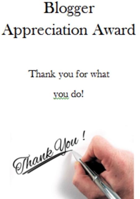 BloggerAppreciationAward