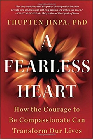 Book cover: A Fearless Heart