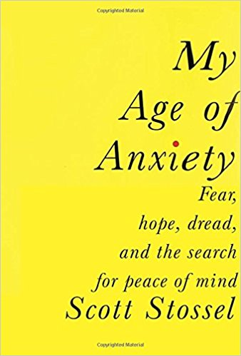 Book cover: My Age of Anxiety