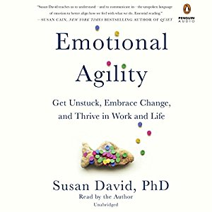 Emotional Agility by Susan David book cover