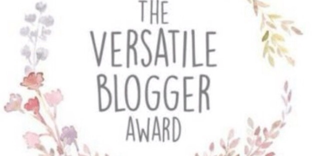 Versatile Blogger Award badge