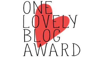 One Lovely Blog award badge