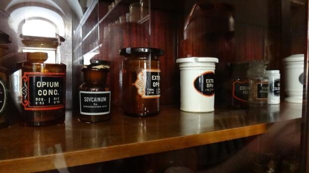 jars of opium