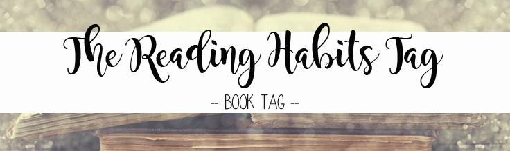 Reading Habits book tag