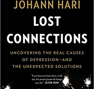 Book cover: Lost Connections by Johann Hari