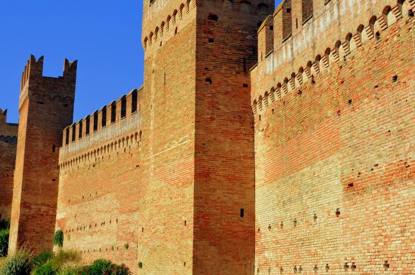 brick castle walls