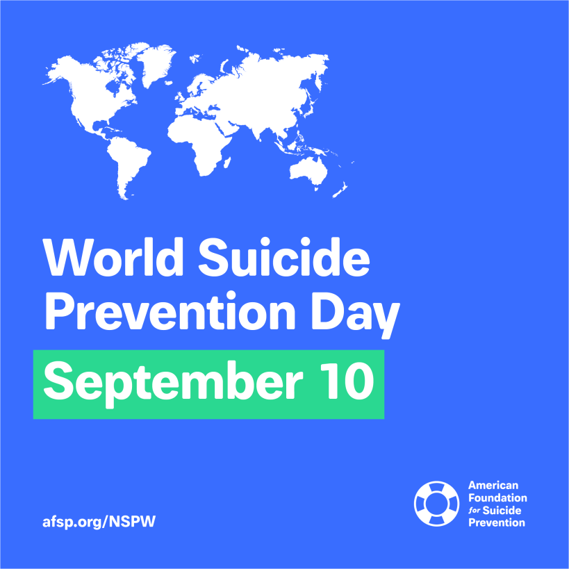 AFSP world suicide prevention day