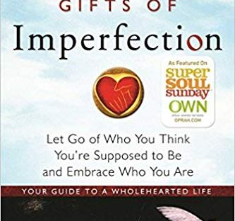 book cover: The Gifts of Imperfection by Brene Brown