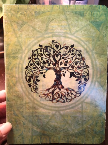 journal cover with tree of life