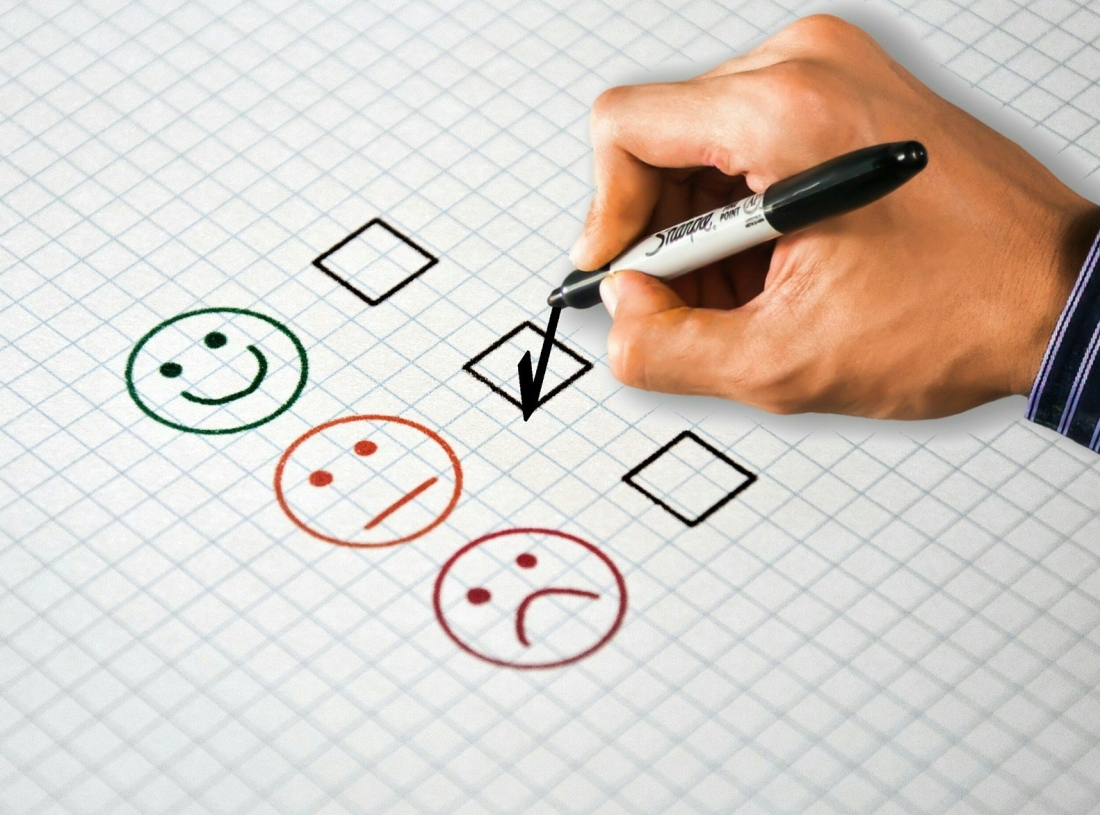 happy face rating