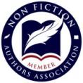 Non-fiction authors association member badge