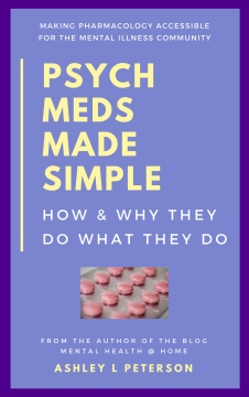Psych Meds Made Simple by Ashley L Peterson book cover