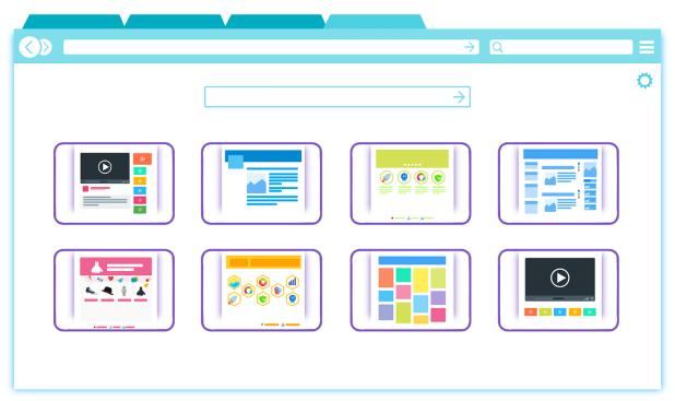 web browser tabs