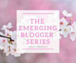 The emerging blogger series logo
