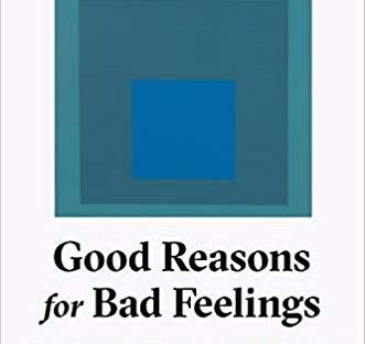 Good Reasons for Bad Feelings by Randolph Nesse book cover