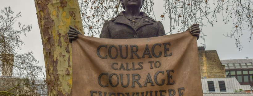 Millicent Fawcett statue: Courage calls to courage everywhere